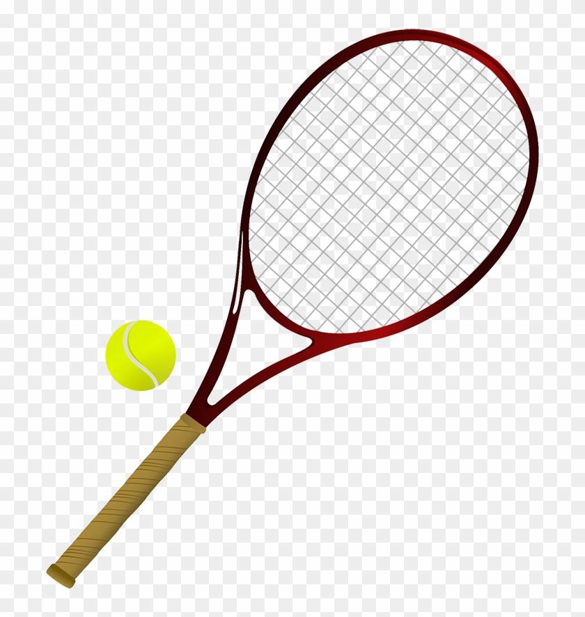 Tennis Items Png - Raquette De Tennis Et Balle #205656