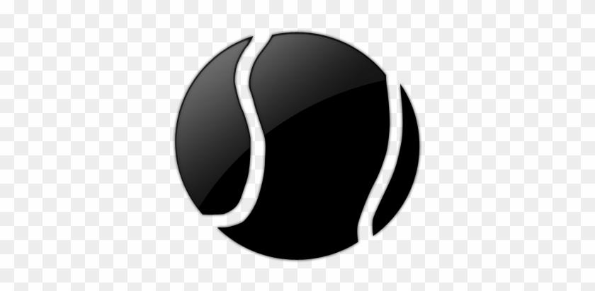 Tennis Ball Clipart Sports Ball - Tennis Ball Icon Transparent #205702