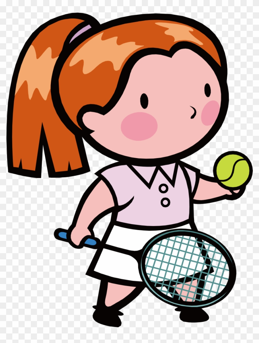 Tennis Girl Coloring Book Page Play Tennis Coloring Pages Free Transparent Png Clipart Images Download