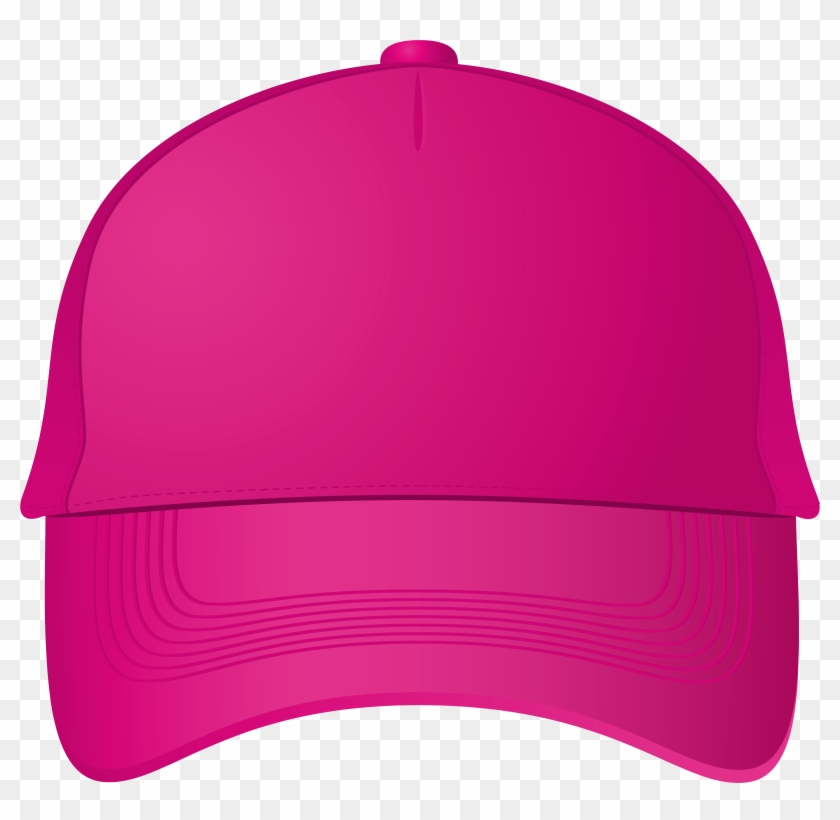 Clipart Pink Ball Baseball Cap Png Best Web - Deer Track Design Custom Decals And Apparel #205948