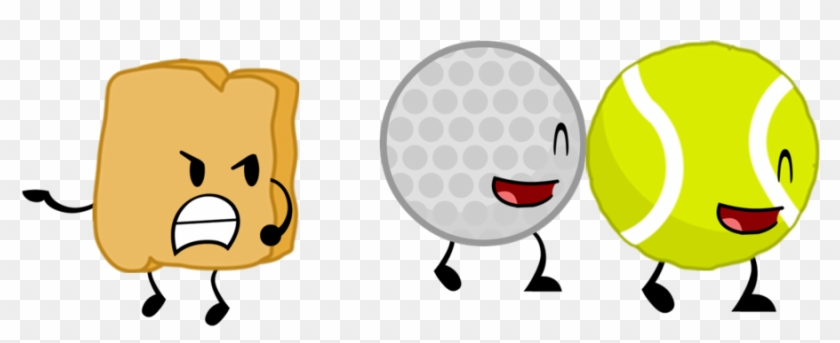 Battle For Dream Island Tennis Ball And Golf Ball #206259