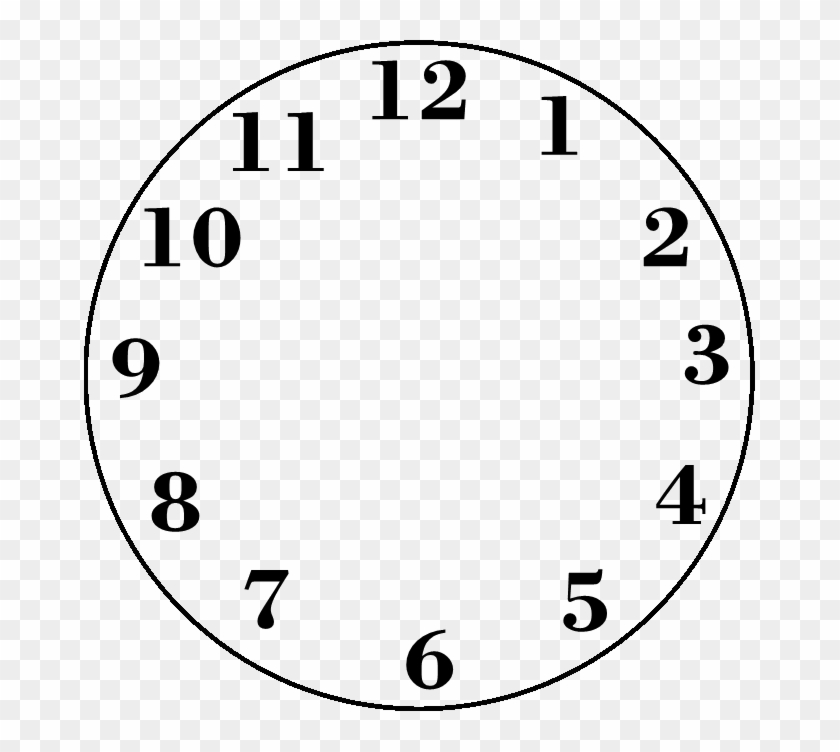 graphic relating to Blank Clock Printable called Blank Clock Clipart - Clock Printable - Cost-free Clear PNG