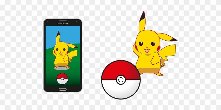 Pokemon Pokemon Go Pikachu Pokeball Samsun - Pokemon Pixabay #206662