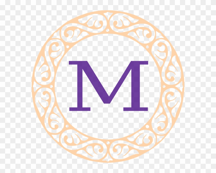 M Monogram Clipart Monogram M Clip Art At Clker Vector - Fancy Letter T #206794