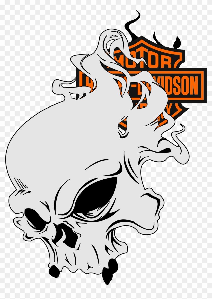 Custom Harleys Anchor Monogram Hd Sportster Harley Stencil Harley Davidson Art Free Transparent Png Clipart Images Download