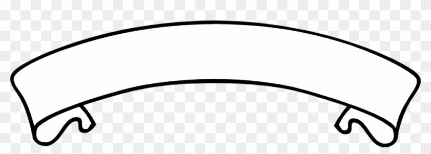 Blank Banner Clip Art White Banner Transparent Background Free