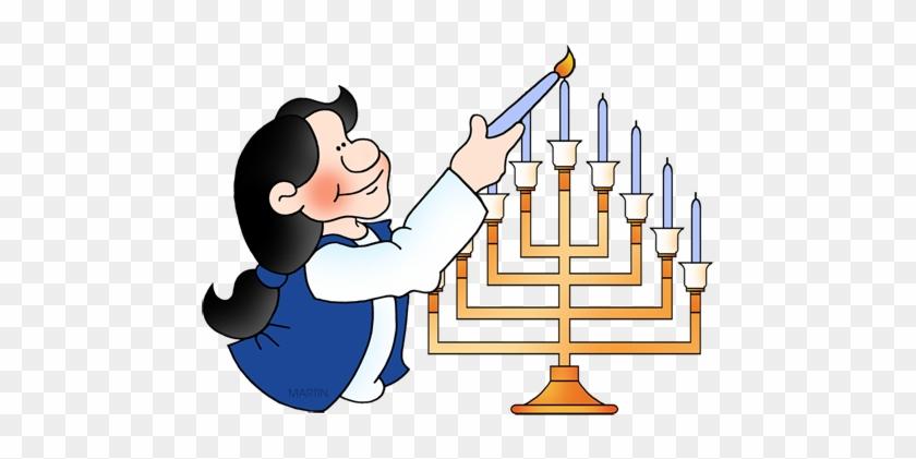 Free Hanukkah Clip Art By Phillip Martin - Hanukkah #207339