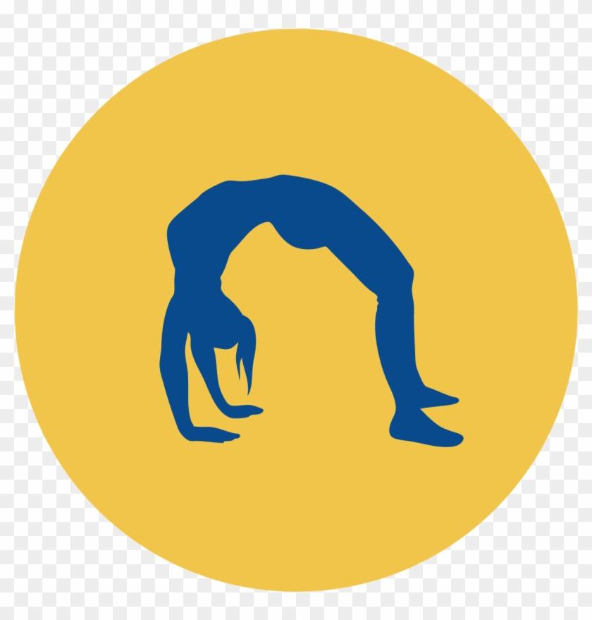 Rhythmic Gymnastics Balance Beam Cheerleading Clip - Gymnastics Moves For Dance #207531