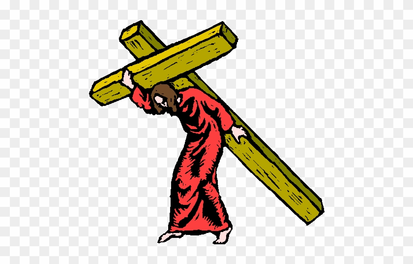 The Passion Of Christ Clipart - Jesus On The Cross Clipart #207679