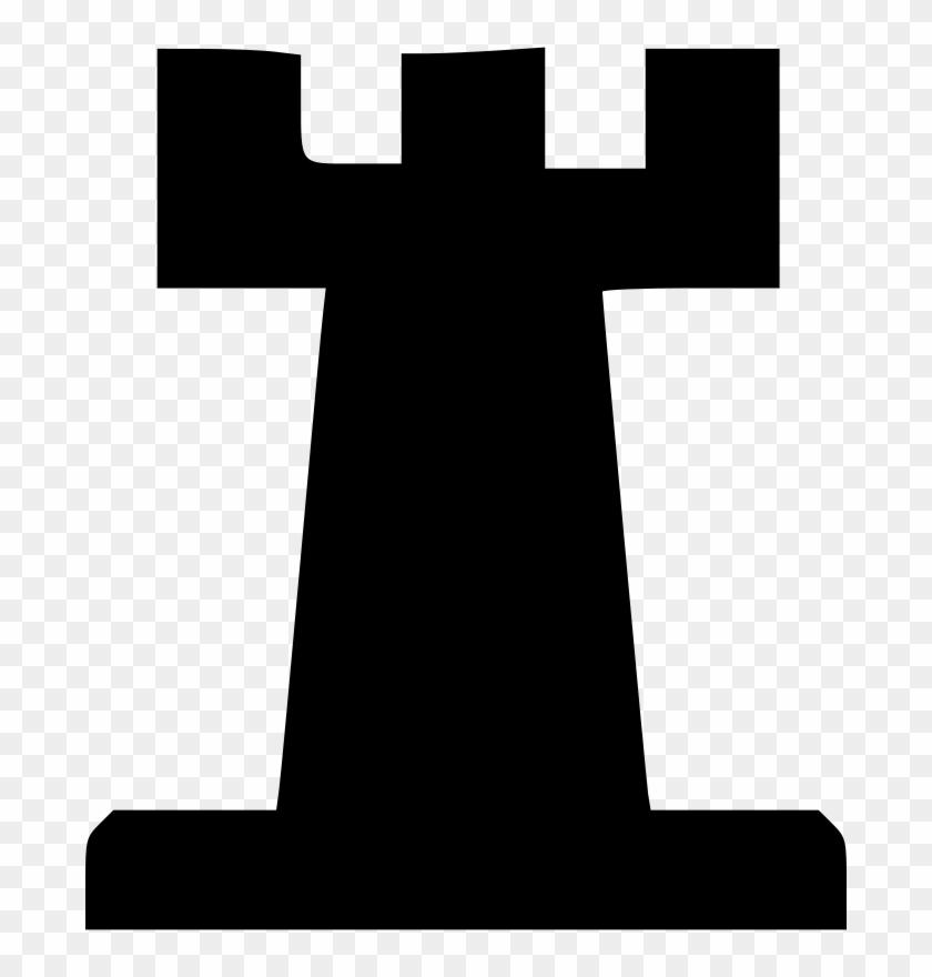 Free Vector Chess Set Rook Clip Art - Rook Chess Vector