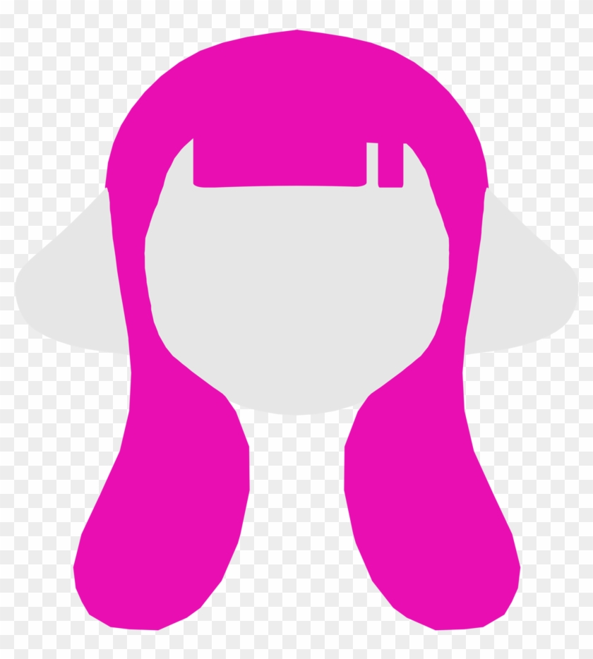 Female Inkling Hairstyle Icon 1 By Project Carthage Inkling Hair