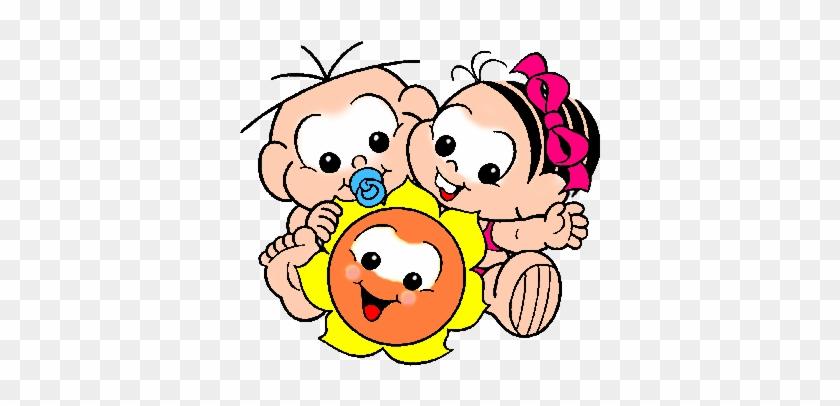 Monica E Cebolinha Baby - Turma Da Monica Baby #1310968