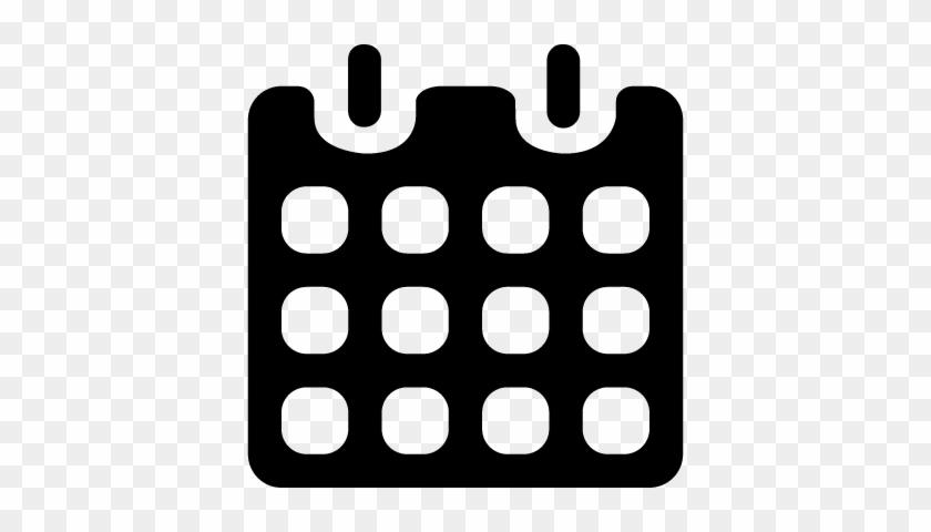 Calendario Vectorizado.Black Paper Calendar With Spring Vector Calendario Png