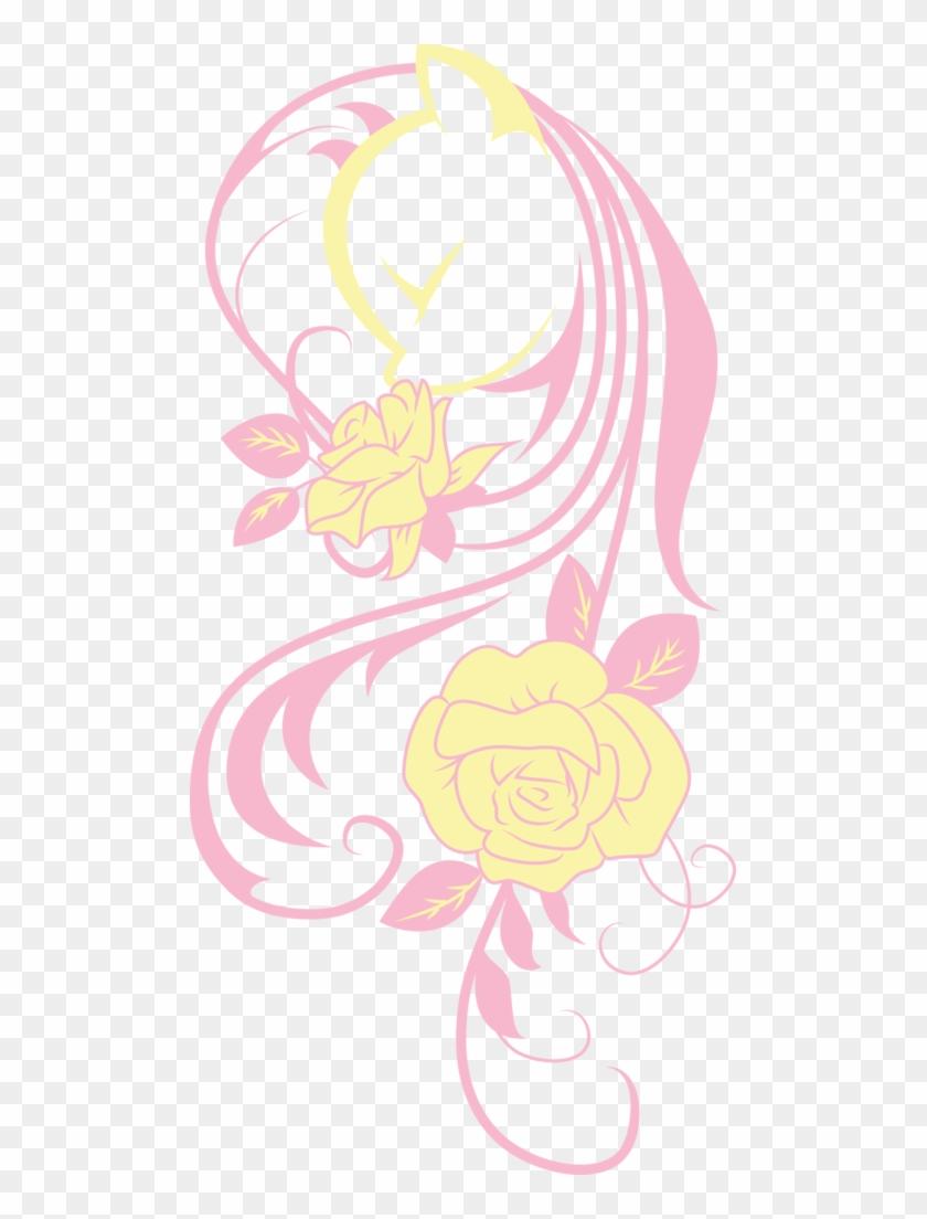Up1ter, Flower, Fluttershy, Lineart, Minimalist, Modern - Up1ter, Flower, Fluttershy, Lineart, Minimalist, Modern #1312257