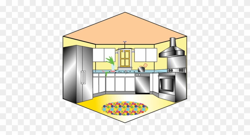 Clip Art Living Room Joy Studio Design Gallery Best - Kitchen Layout Clipart #1312743