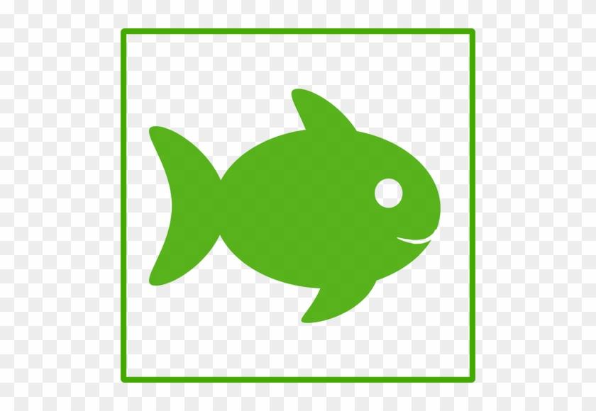 Marine Fish Clipart Small Fish - Green Fish Icon #1313915