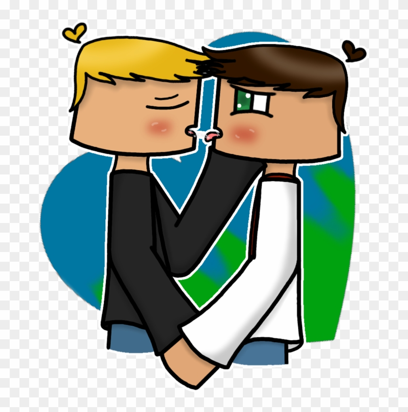 Two Males One Love By Mik I Minecraft Story Mode Jesse X Petra