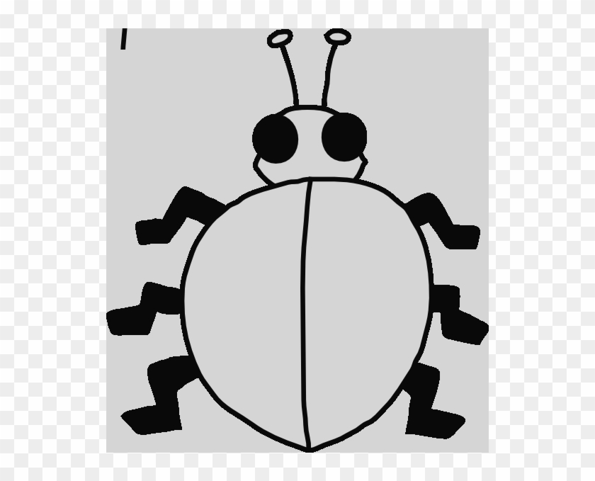 Gambar Kumbang Hitam Putih Free Transparent Png Clipart Images