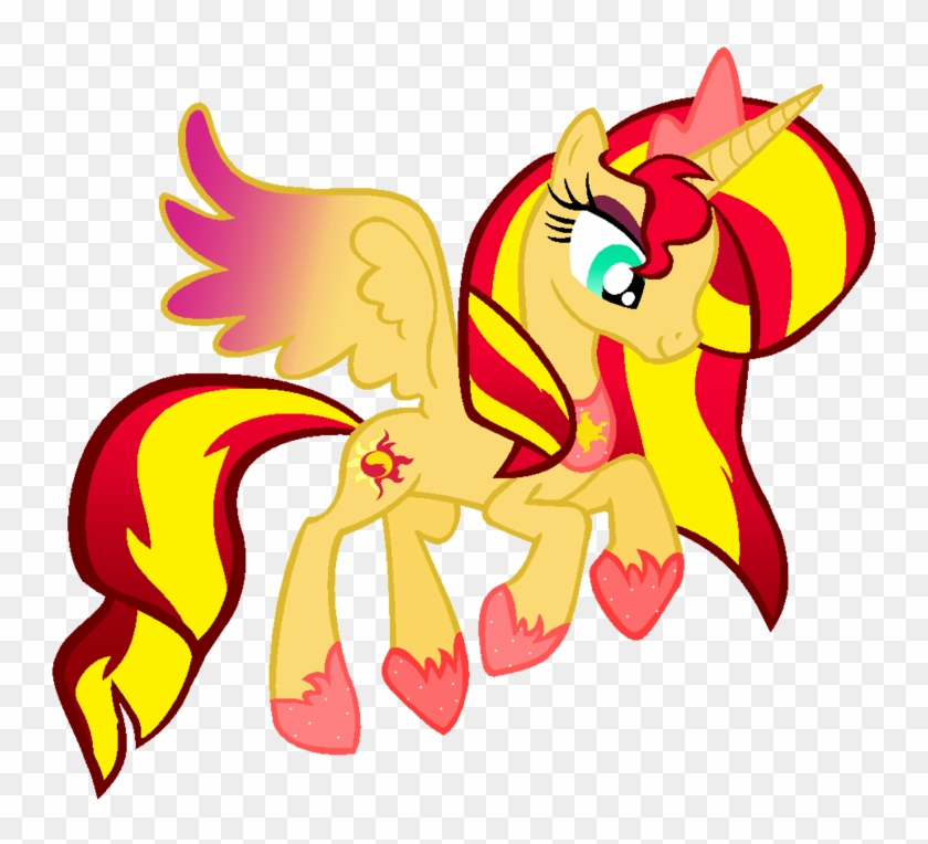 Princess Sunset Shimmer By Princessdeathwish - Sunset Shimmer My Little Pony #1316219