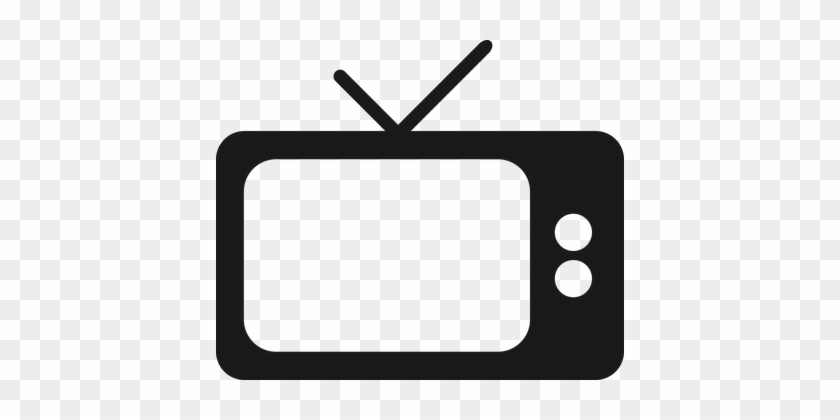 Television, Tv, Screen, Lcd Screen - Tv Vector Png #1317045