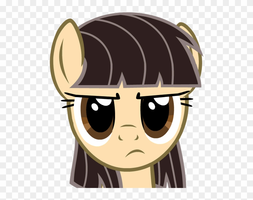 Fim Mlp Friendship Is Magic My Little Pony My Little - My Little Pony Brown Eyes #1317539