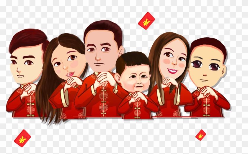Bainian Chinese New Year Lunar New Year Chinese Zodiac - 2018 初 六 拜年 #1317649