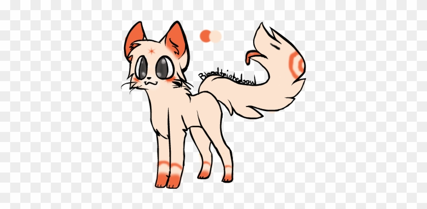 Orange Cat Tail-mouth Closed By Dragonsrforever - Deviantart - Free
