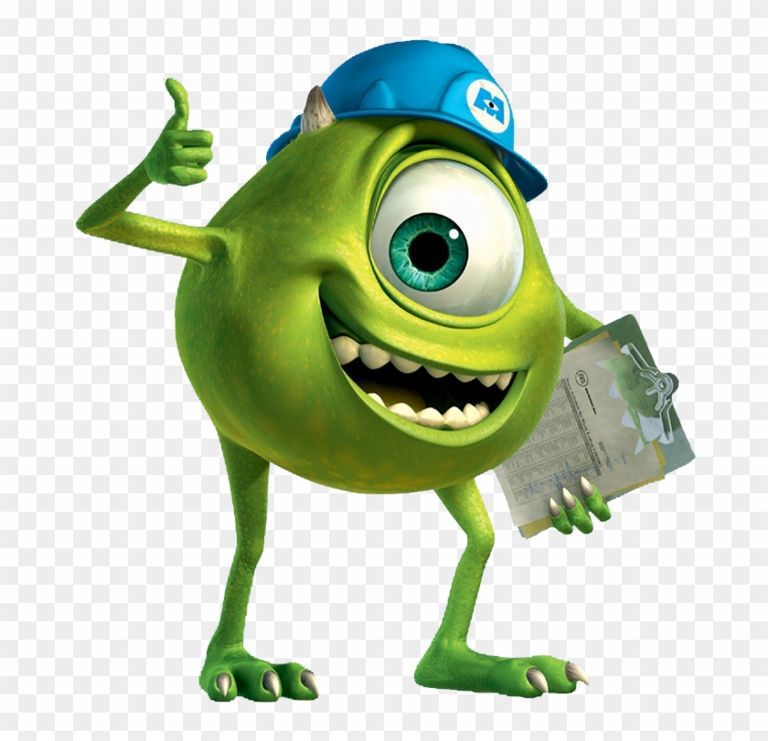 Photo Png Monsters Inc Mike Wazowski Free Transparent Png Clipart Images Download