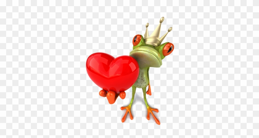 Green Frog Png - Animated Frog Love Gifs #1318382