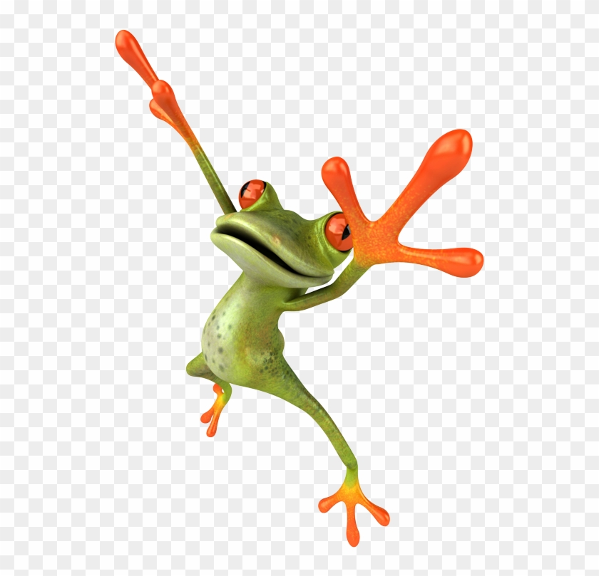 Jpg • Png Large - Frog Jumping #1318413