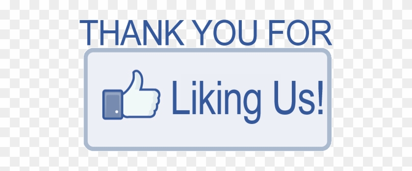 """We Did It Thank You For """"liking"""" Us And Helping Us - Thank You For Liking Our Facebook Page #1318757"""
