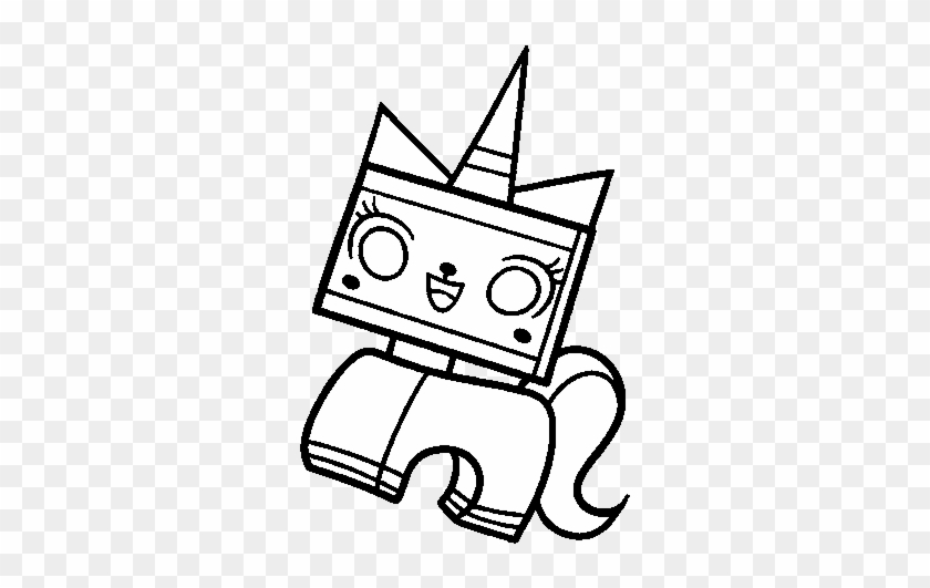 Dibujo De Unikitty Para Colorear Dibujos Net Pagina - Lego People ...