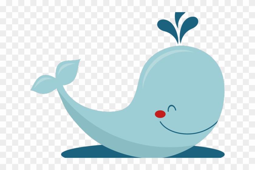 Whale Clipart Vector - Baby Whale Clip Art #1319563