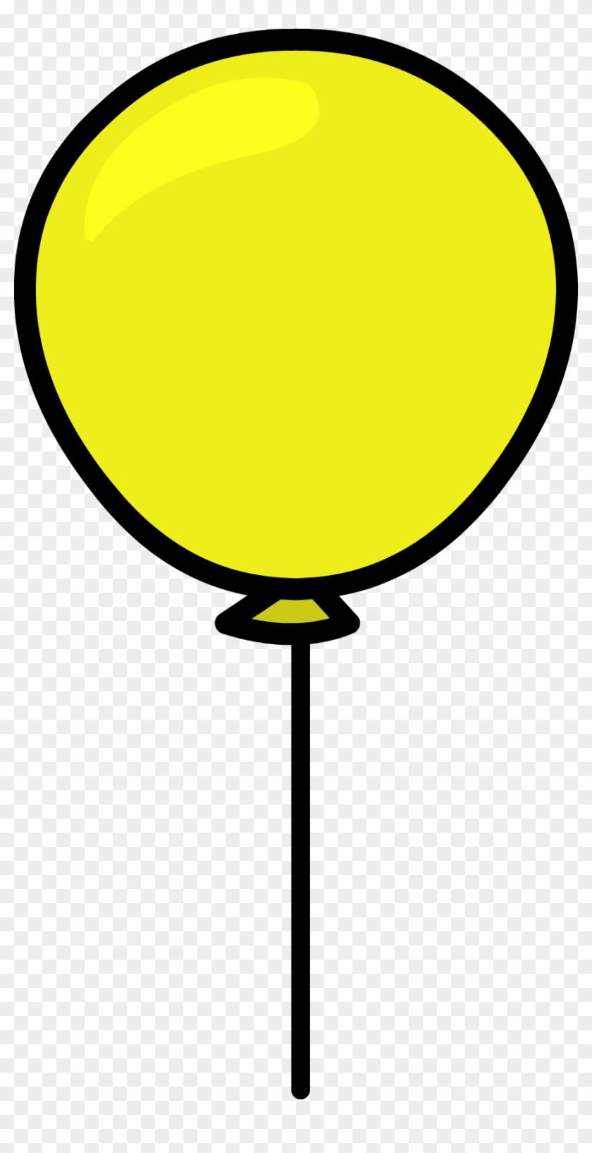 Yellow Balloon Sprite 005 - Yellow Balloon Png #1319989
