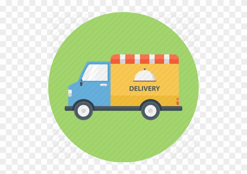 Delivery Clipart Food Truck - Food Truck Delivery Png #1320400