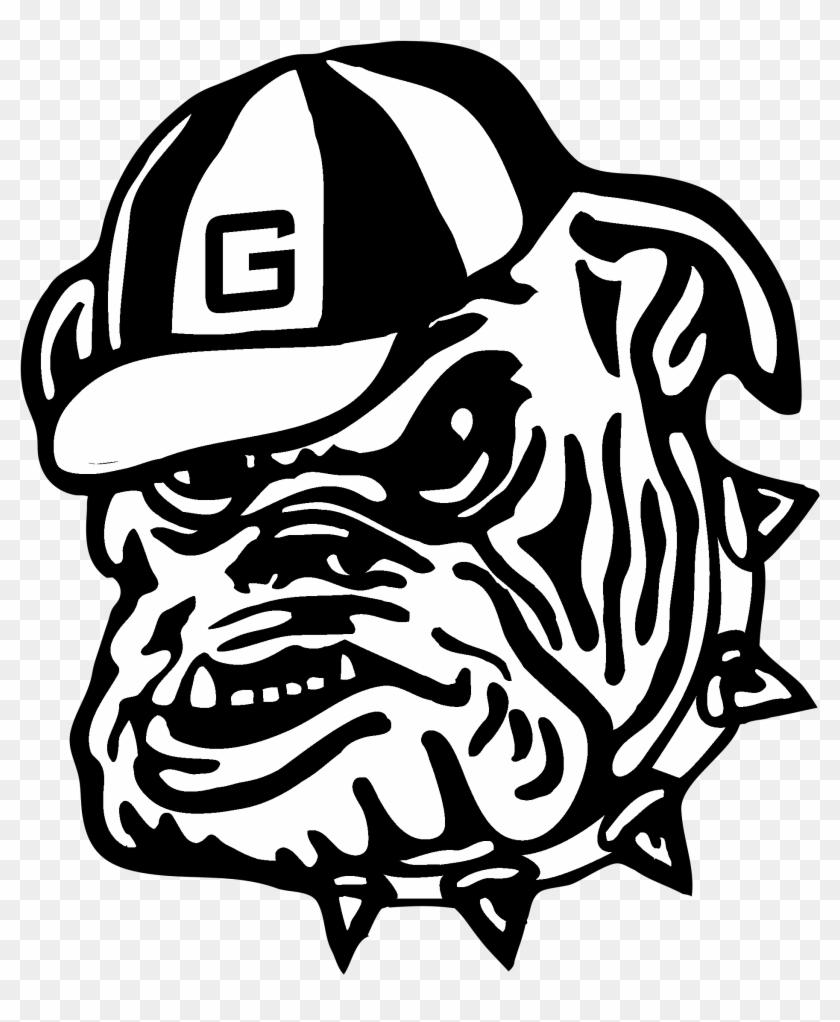 Georgia Bulldogs Logo Black And White - Georgia Bulldogs Logo #1321482