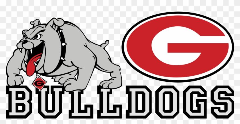 Georgia Bulldogs Logo Png Transparent - Georgia Bulldogs And Lady Bulldogs #1321508