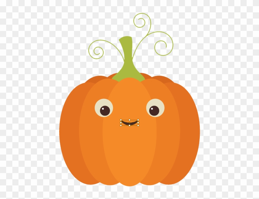 Cute Pumpkin Png File - Cute Pumpkin Png #1321621