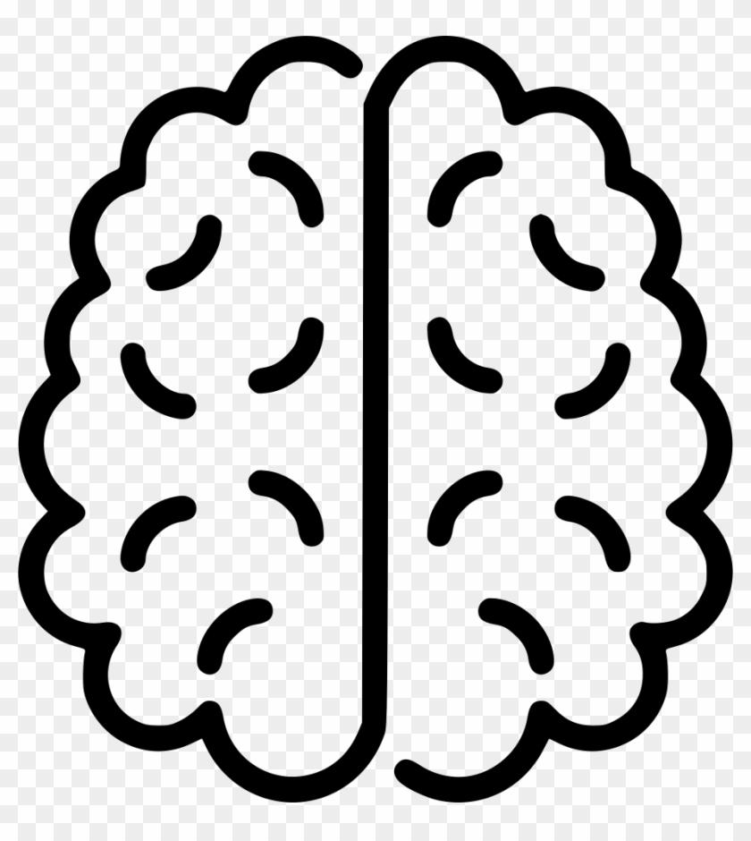 Brain Comments - Brain Svg Icon Free #1321767