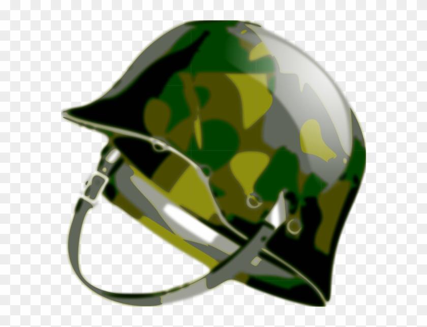 Military Clipart Army Hat - Army Helmet Clip Art #1322308