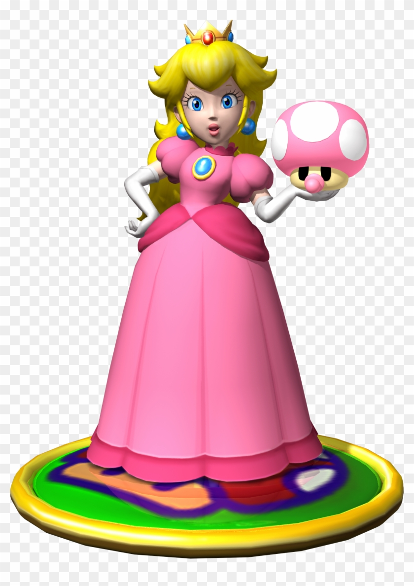 Princess Peach Clipart Mario Party - Peach Mario Party 4 - Free