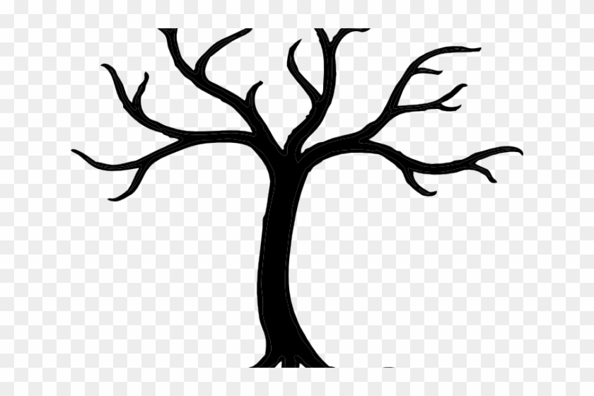 Spooky Tree Clipart - Git Tree And Branch #1322661