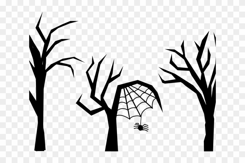 spooky tree clipart drawing free transparent png clipart images rh clipartmax com Scary Tree Silhouette spooky tree clip art free