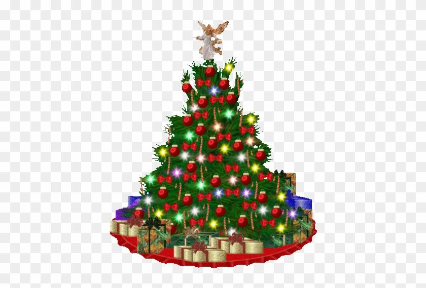 Merry Christmas Wallpaper.Christmas Wallpaper Titled Christmas Tree Merry Christmas