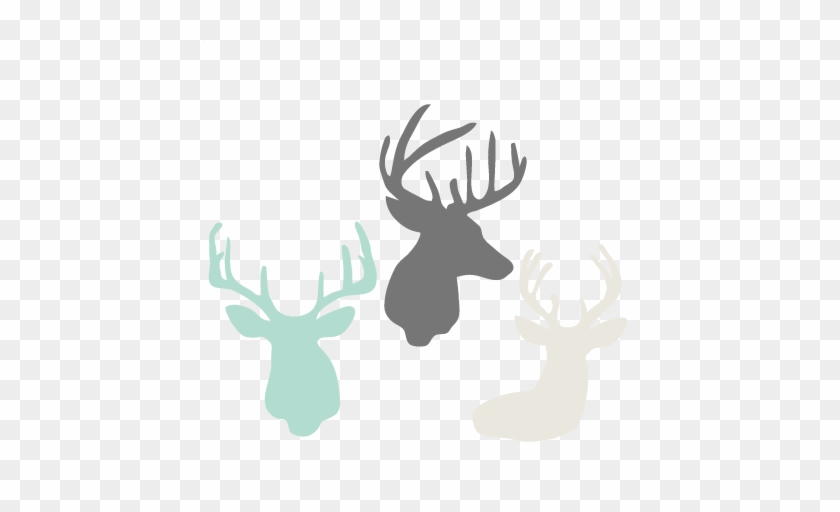 Deer Head Set Svg Cutting Files For Scrapbooking Cute Reindeer Backgrounds Free Transparent Png Clipart Images Download