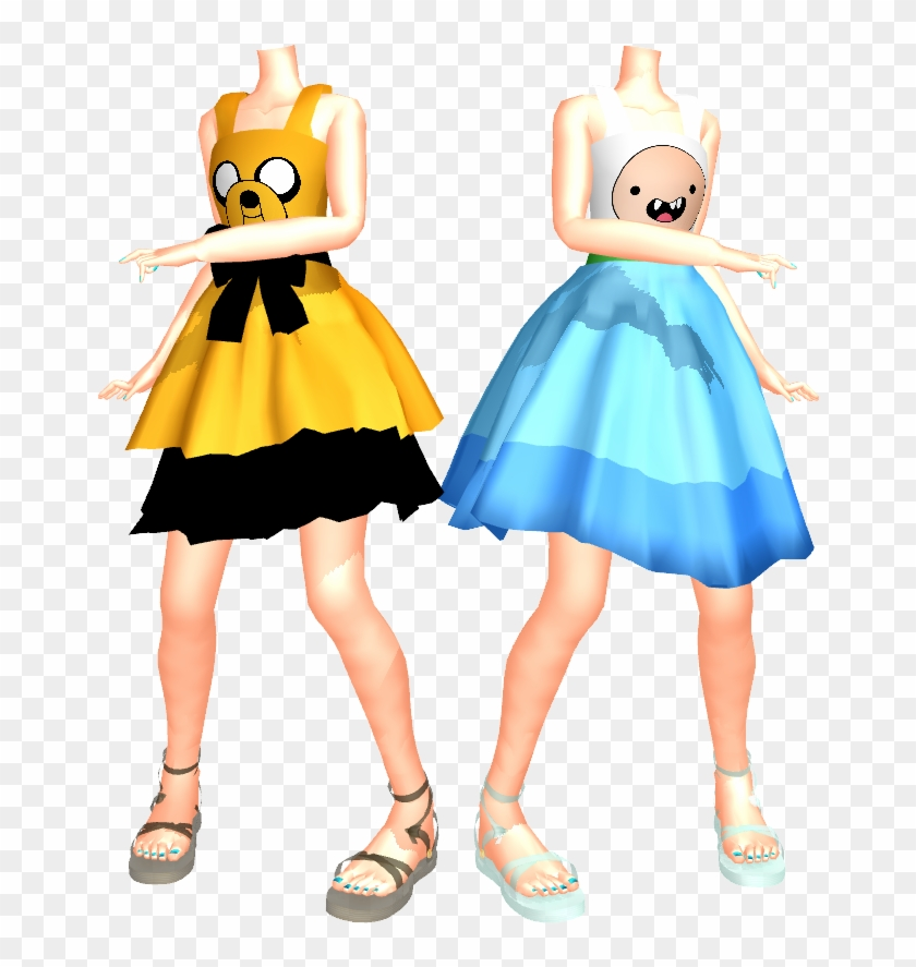 Mmd Adventure Time With Finn And Jake Dresses Dl By - Jake Adventure Time Manga #1324645