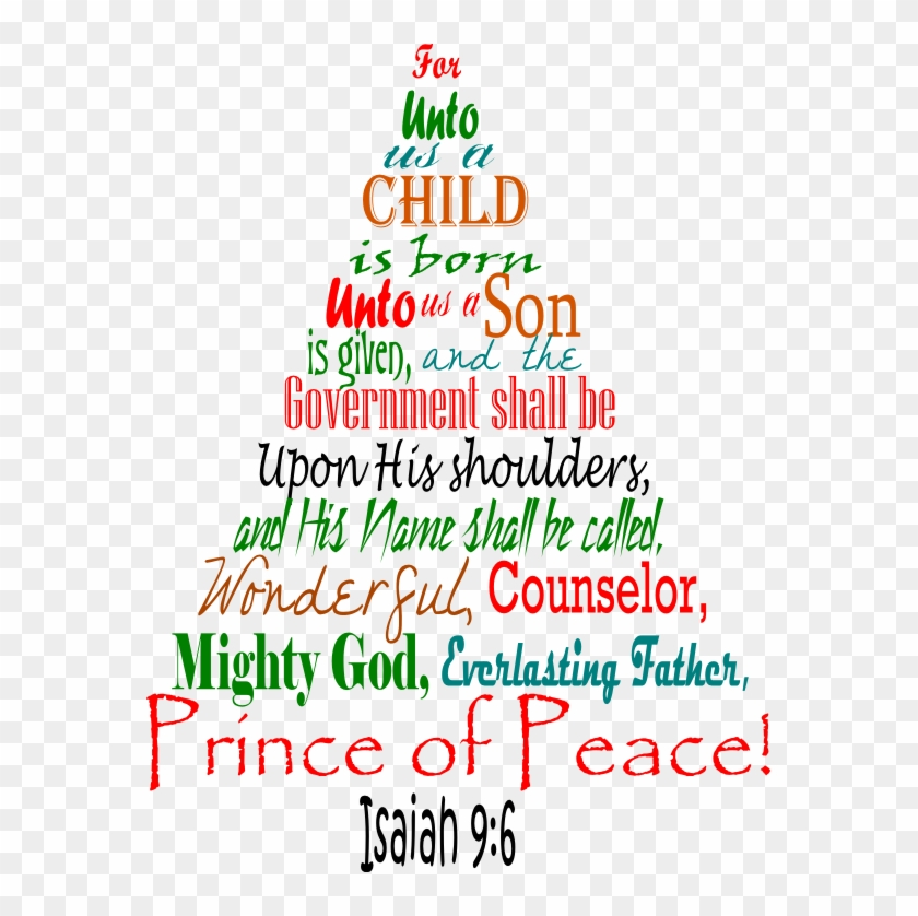 Christmas Tree In The Bible Scripture: Free Transparent PNG Clipart