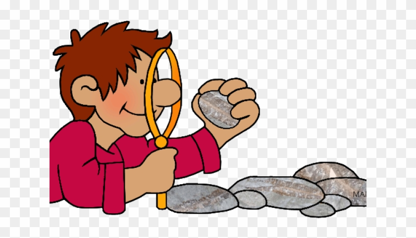 Earth Science Clipart - Rock And Mineral Cartoon #1327069