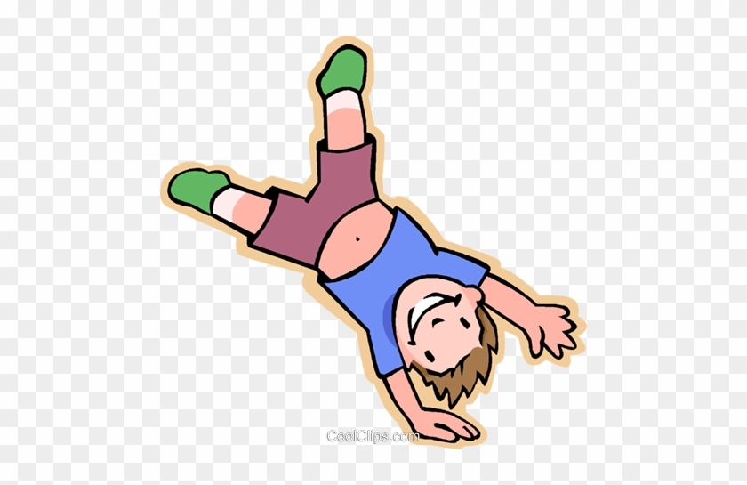 Best Of Tumbling Clipart Boy Doing Cartwheel Gymnastics - Do A Cartwheel Clipart #1327081