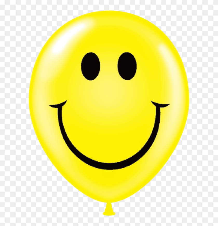 Congratulations Graduate Images - Yellow Balloon Happy Face Png #1327092